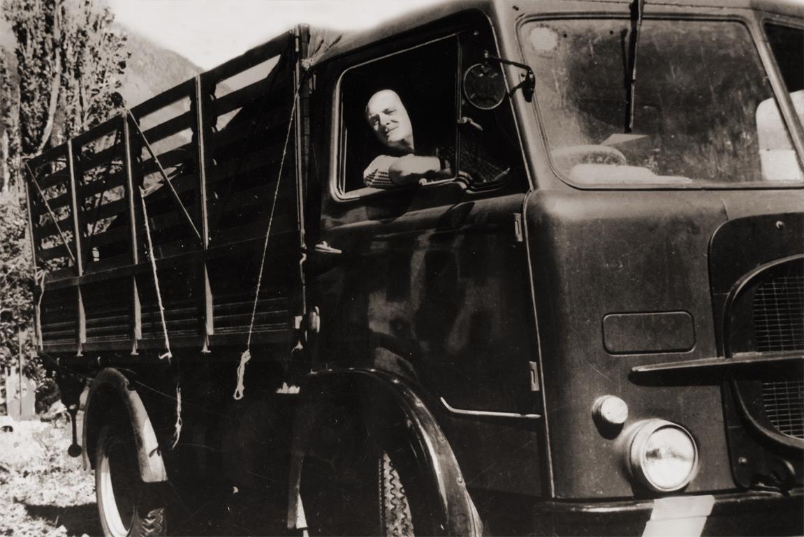 Storia: Giovanni Campagnaro ed il suo vecchio camion